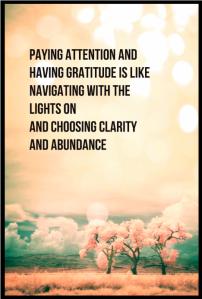clarity and abundance